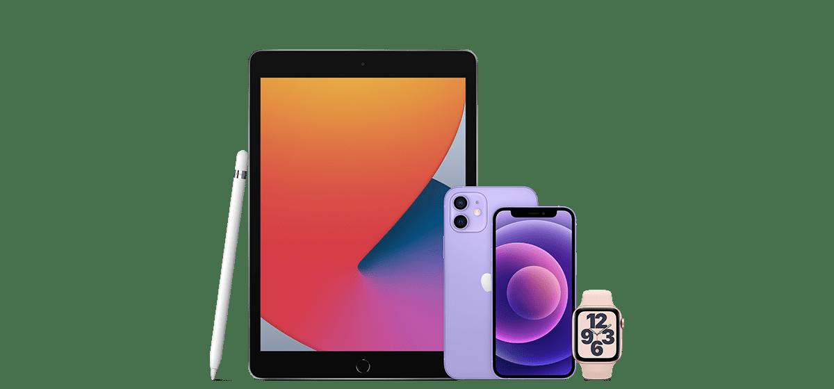 iPhone, iPad och Apple Watch