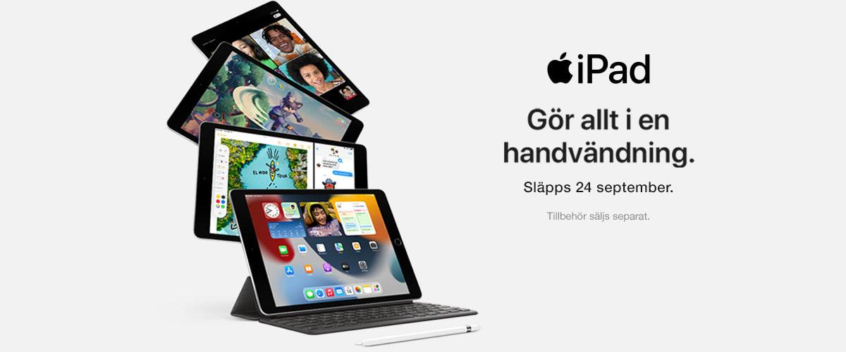iPad. Fler möjligheter. Mer underhållning.