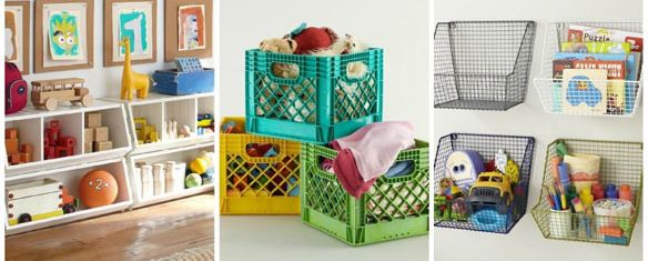Clever Kids Toy Storage Ideas: Pick What Suits Your Space (and Needs) Best!