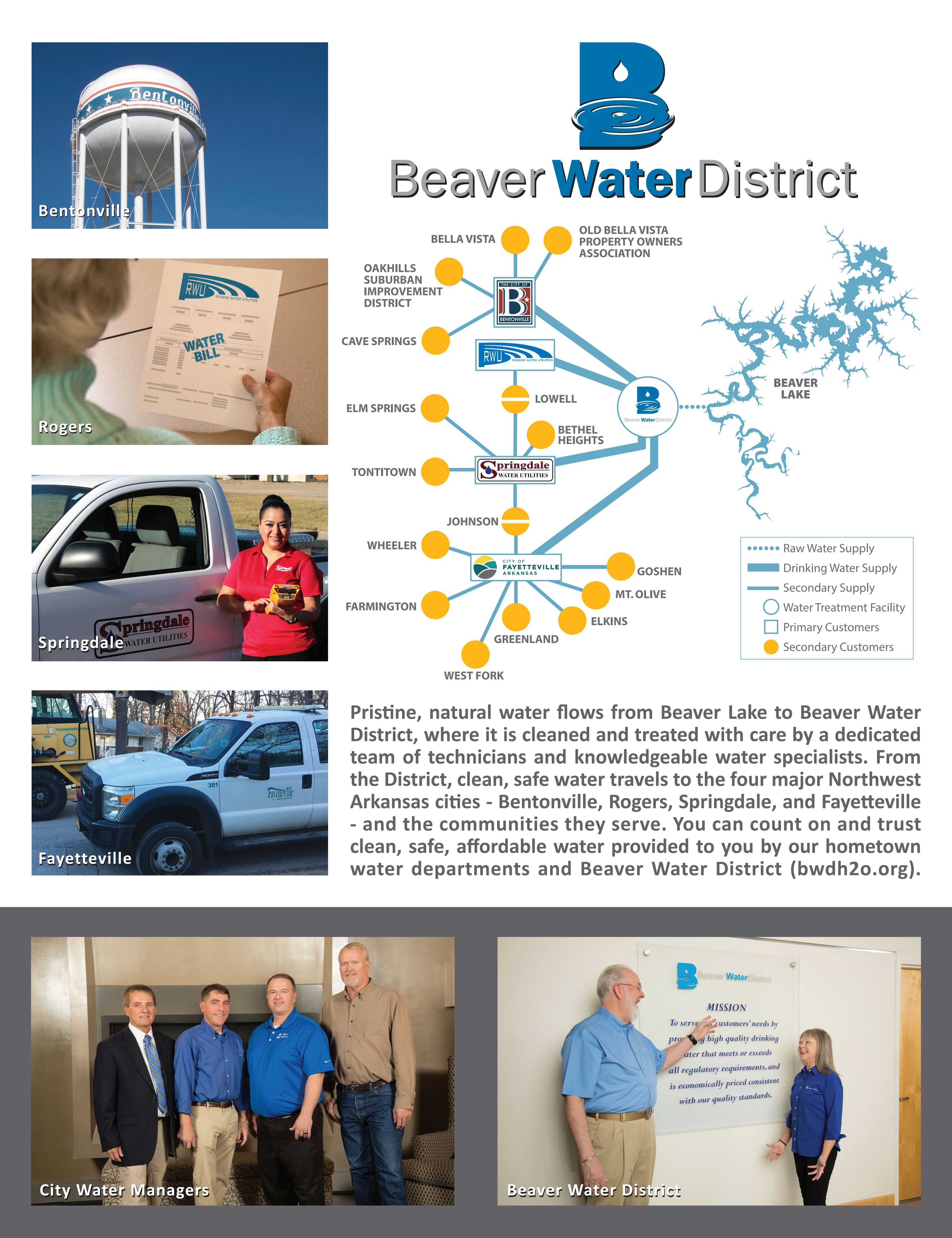 You can trust Beaver Water District and your local water utilities.