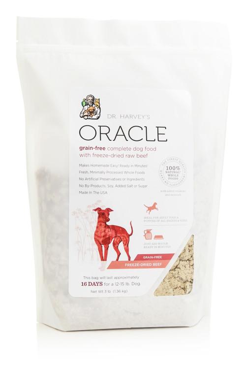 Oracle grain free beef