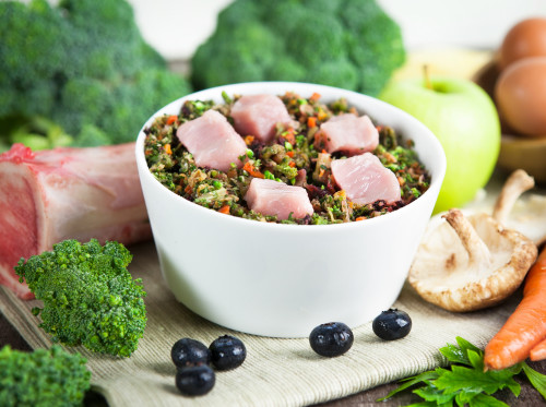Raw vibrance bowl healthy