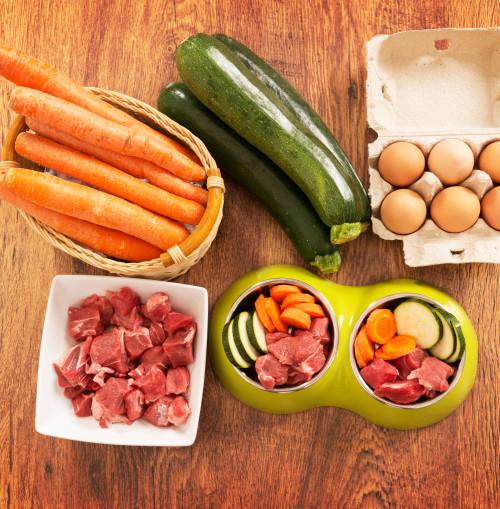 Raw diet preparation