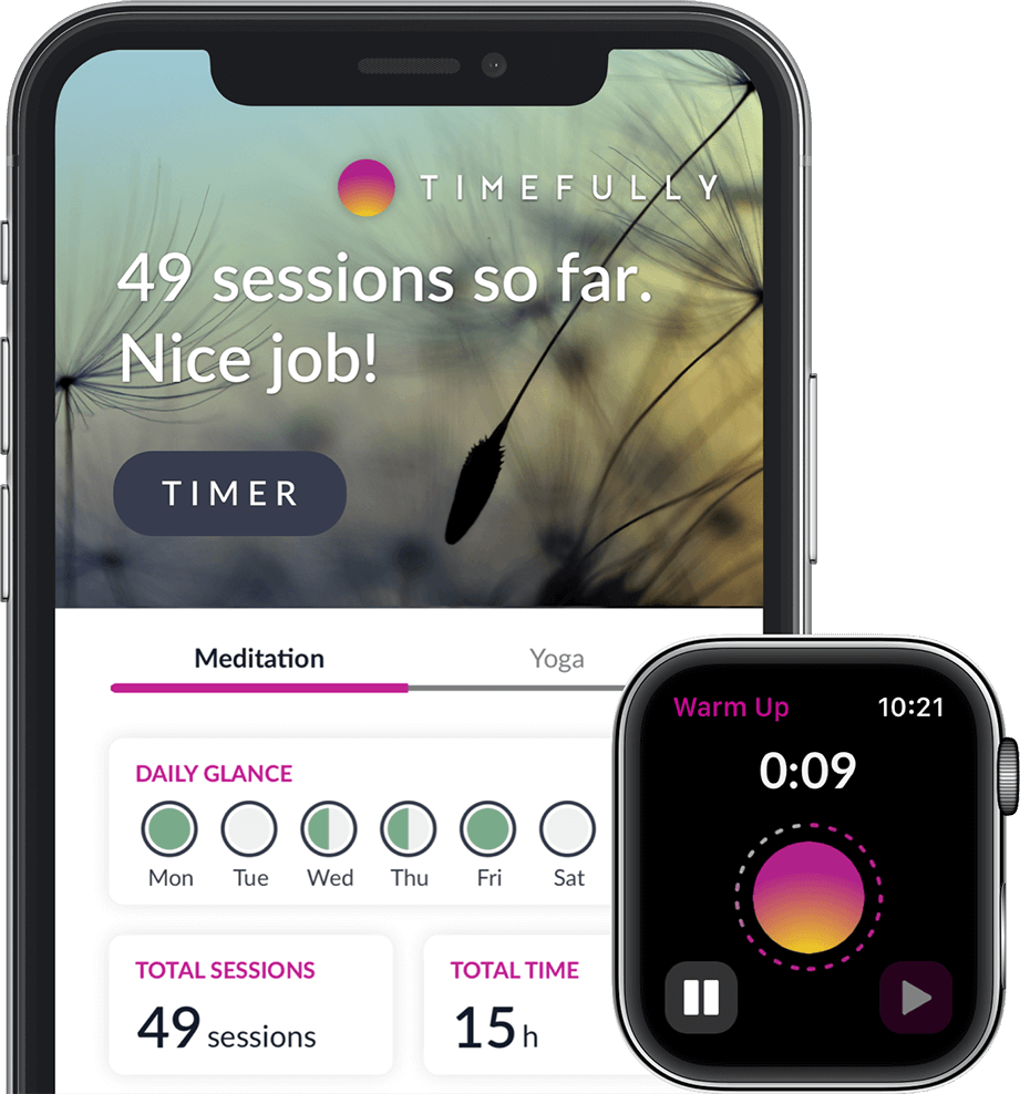 The meditation timer that motivates you to practice more meditation