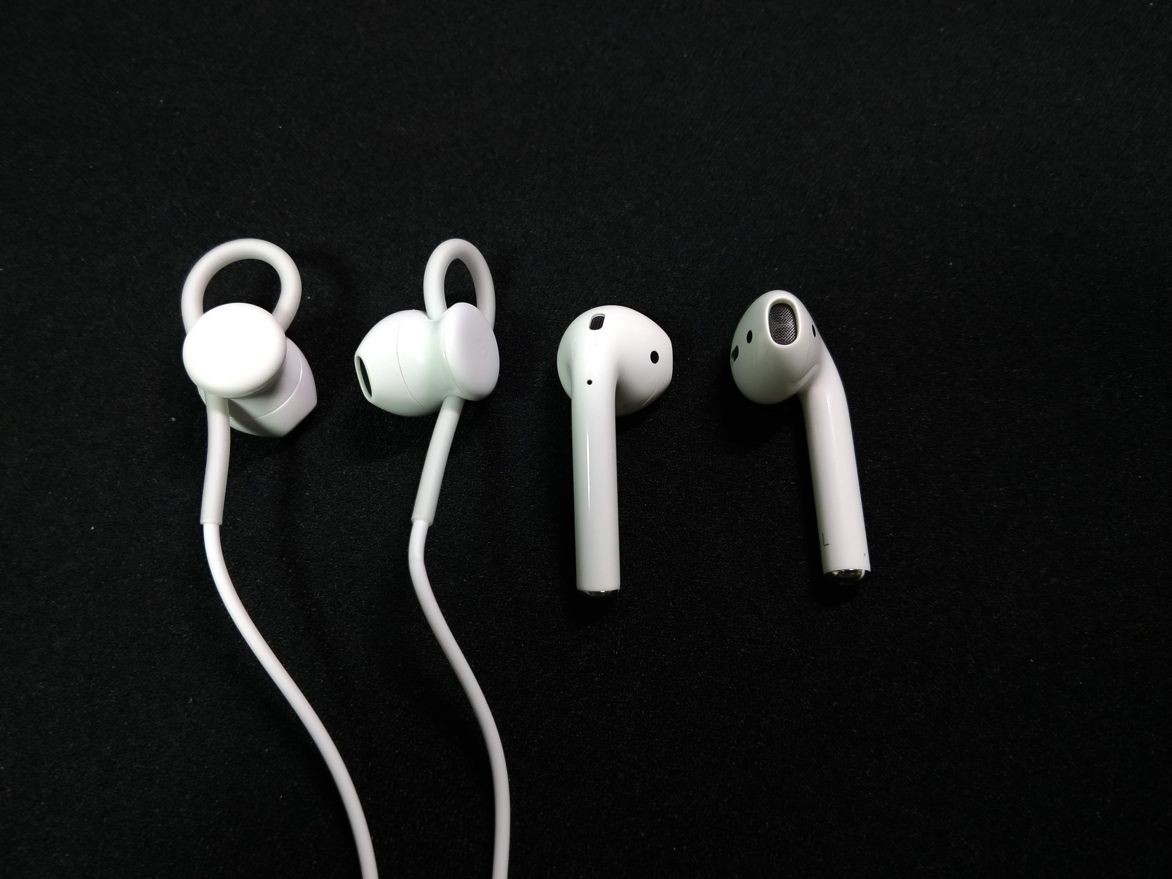 Airpods w/ Pixel Earbuds