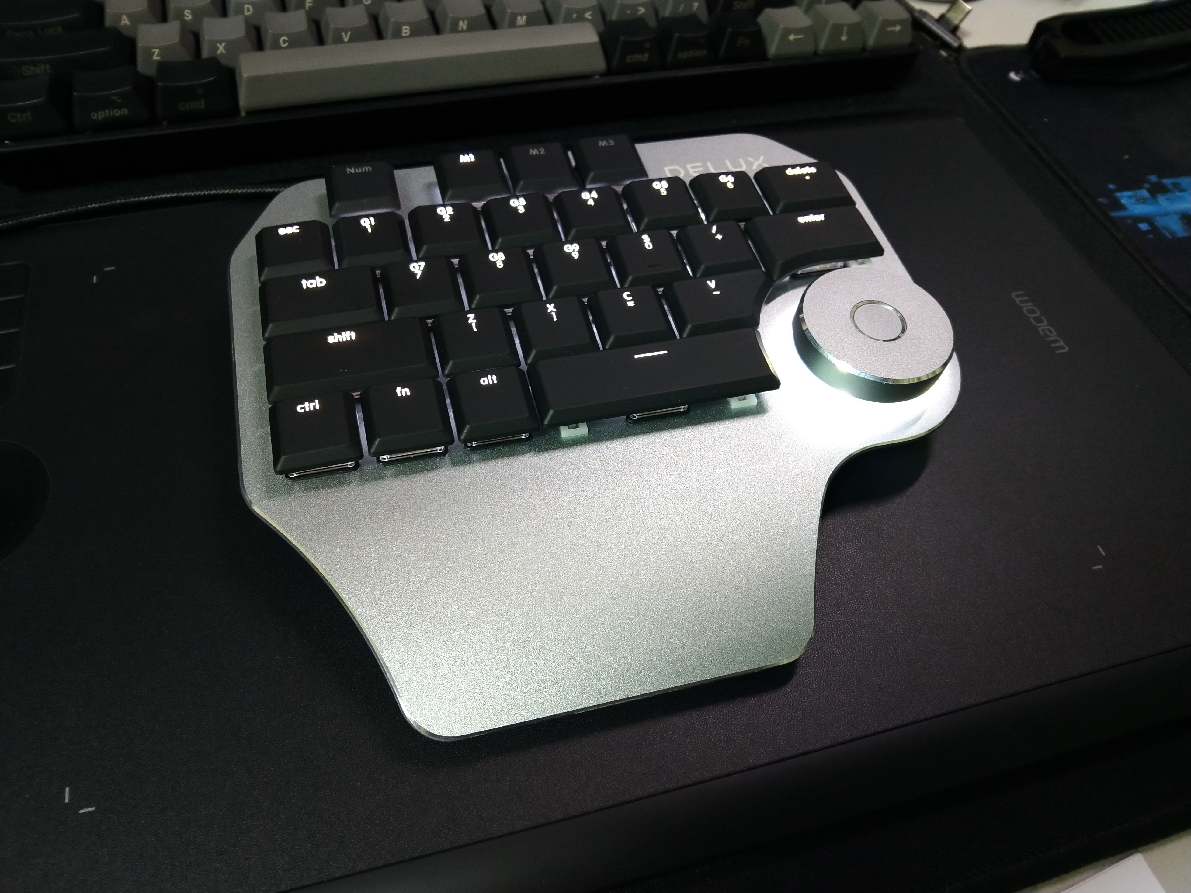 Delux Designer單手鍵盤