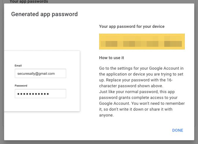 App Password