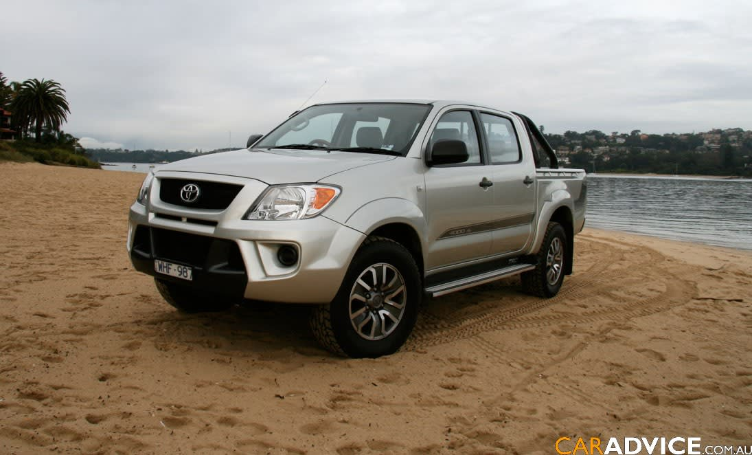 2008 TRD HiLux 4000SL Review