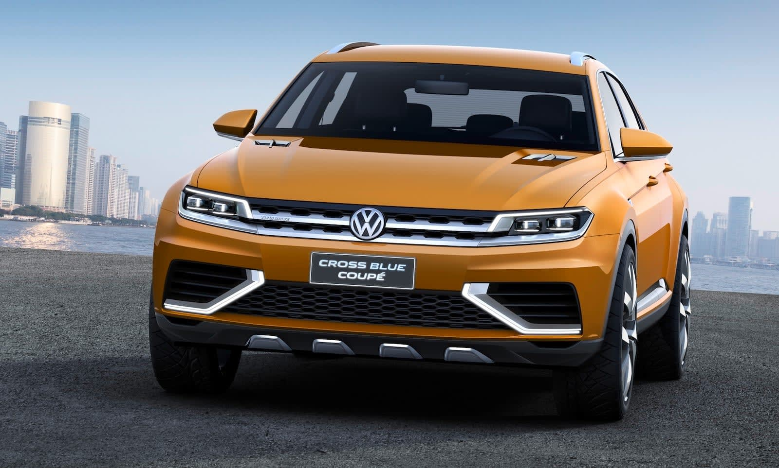Volkswagen CrossBlue Coupe concept - 4