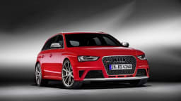 Audi's current generation RS4 Avant could be the last powered by a V8 engine