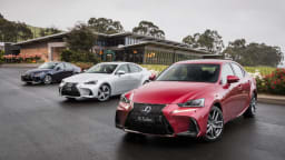 2017 Lexus IS Line - Price And Features For Australia