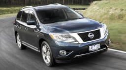 2013 Nissan Pathfinder.