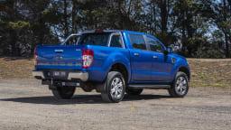 2020 best dual cab ute ford ranger xlt exterior rear