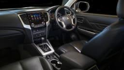 2020 best dual cab ute mitsubishi triton interior