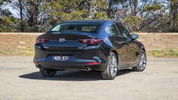 2020 best small car finalist mazda 3 exterior rear
