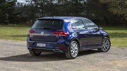 2020 best small car finalist volkswagen golf exterior rear