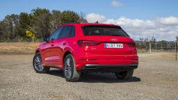 2020 best small luxury suv audi Q3 exterior rear