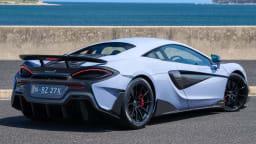 2020 best sports car over $100k mclaren 600LT exterior rear