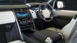 2020 best upper large suv landrover discovery interior