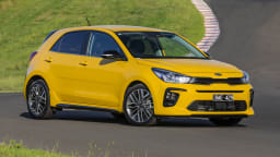 2021 best city car finalist kia rio exterior front