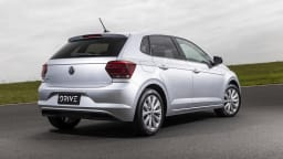 2021 best city car finalist volkswagen polo exterior rear