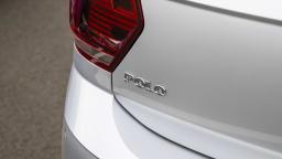 2021 best city car finalist volkswagen polo exterior rear label