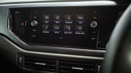 2021 best city car finalist volkswagen polo interior dashboard