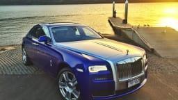 2015 Rolls Royce Ghost.
