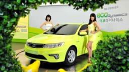 2010 Kia Forte LPi Hybrid Unveiled In Korea