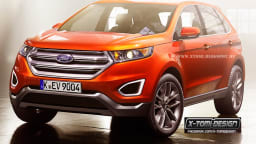 Rendered: 2015 Ford Edge SUV