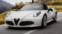 2015 Alfa Romeo 4C Spider Alfa Romeo 4C Spider