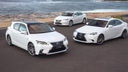 2015 Lexus IS, ES, CT: Price And Features For Australia