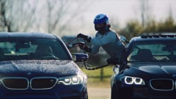 BMW set the world record for the longest continuous drift.