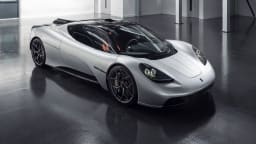 GMA T.50: Gordon Murray's new three-seater supercar unveiled