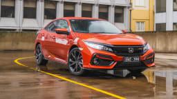 2020 Honda Civic RS hatch review