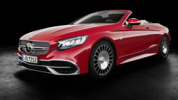 2017 Mercedes-Maybach S650 Cabriolet Unveiled At LA Auto Show