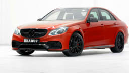 Mercedes-Benz E63 AMG Gets The Brabus Treatment: Up To 625kW