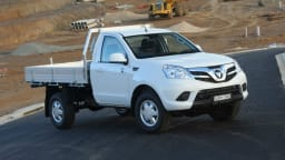 2014 Foton Tunland Single-Cab On Sale Again In Australia