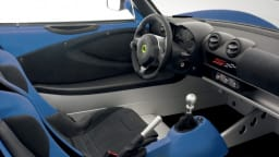 The interior of the S Club Racer is a no-frills affair.