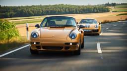Porsche's 'new' 1998 911 sold at auction