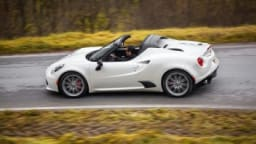 The Spider is the latest in a long ling of Alfa-Romeo convertibles.