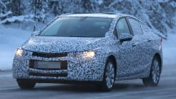 New Holden Cruze Spied Testing