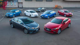 With small car sales dominating the sales chart, we test seven of the best sedan versions.