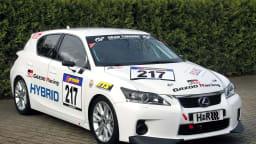 Lexus CT 200h To Race At The Nurburgring