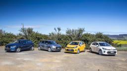 Drive 2017 Best City Car group shot
