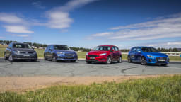 Drive 2017 Best Small Car group shot