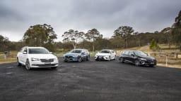 Drive 2018 Best Family Car group shot