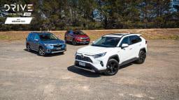 Drive Best Medium SUV 2020 finalists group photo