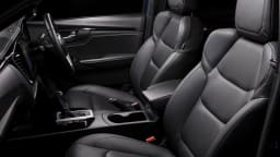 Drive Car of the Year Best Dual Cab Ute 2021 finalist Isuzu D-Max interior front seating viewed from passenger window