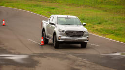 Drive Car of the Year Best Dual Cab Ute 2021 finalist Mazda BT-50 driven on road circuit